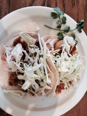 Agave Taco: Agave Shrimp Tacos a pair!