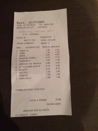 Restaurante Alcoyano