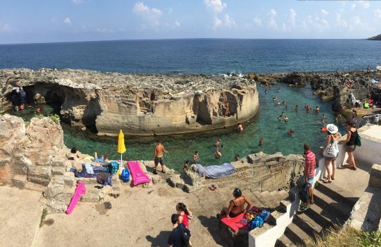 Piscine naturali di marina serre picture of piscina - Piscina naturale puglia ...