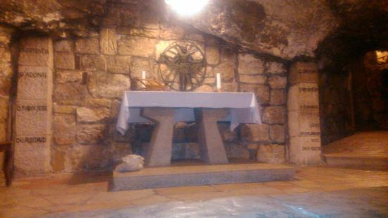 Bethlehem Star Hotel : One of the caves under the Church of the Nativity
