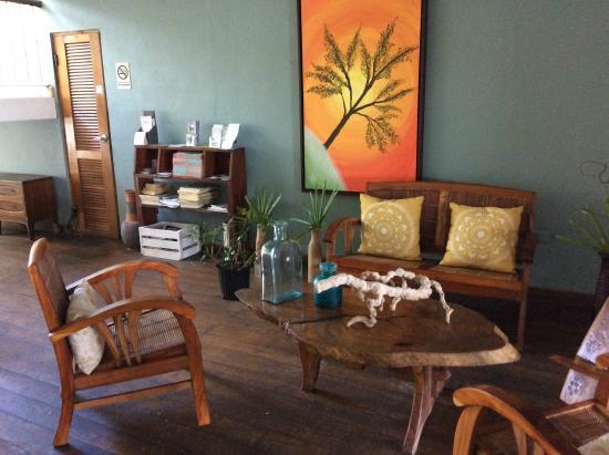 La Playita: lounge with nice decor