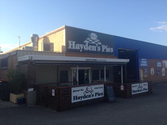 Hayden's Pies: Haydens Pies - Ulladulla