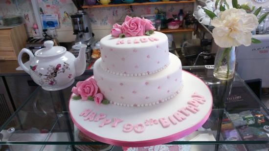 Little Miss Muffins 90th Birthday Cake