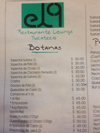 El 9 Yucateco BQ