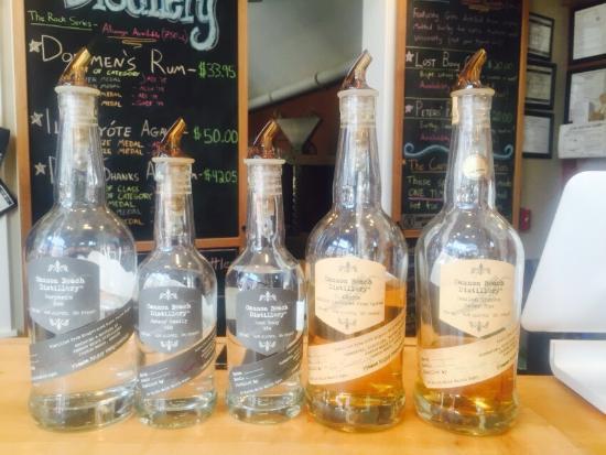 Cannon Beach Distillery: Fantastic, unique rum & gin, all locally sourced & distiller.