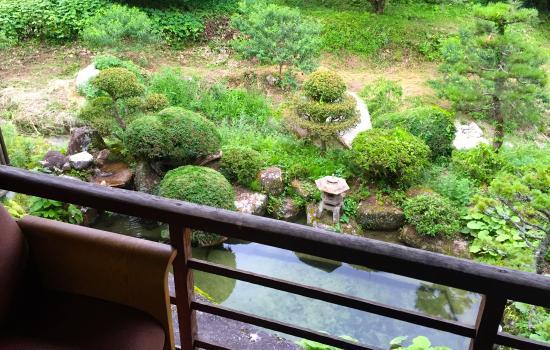 Minshuku Koshinzuka: Japanese garden