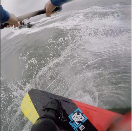 Exewake: wake-boarding