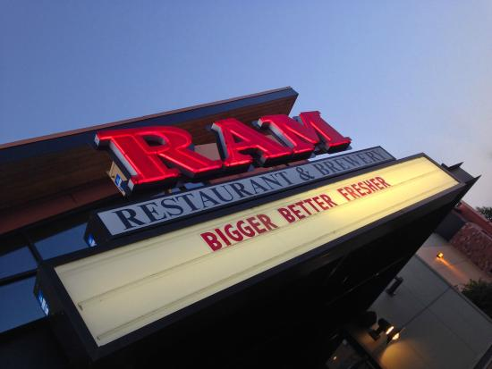 The Ram Restaurant & Brewery: This is a mix of Americana with sports bar