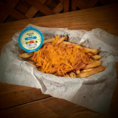 Hogansville, GA: Give our BBQ French Fries Appetizer a try and let us know what you think! #rogersbbq