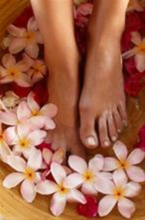 Captain Cook, Hawái: Exotic Frangipani Pedicure