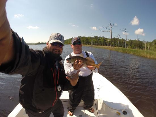 Redfish picture of charleston fishing company for Charleston fishing com