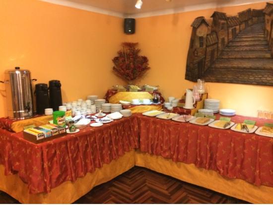 Hotel Los Andes de América: desayuno