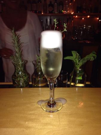 The Ideal Place: Blackberry Thyme Sparkler!!!!! Bubbly and delicious!!!!