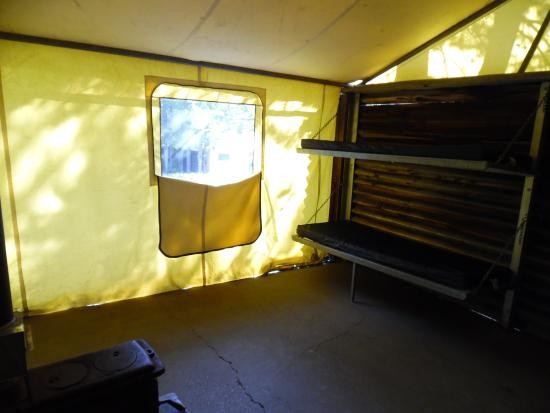 Colter Bay Village Colter Bay Tent Cabin interior & Colter Bay Tent Cabin interior - Picture of Colter Bay Village ...