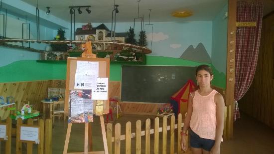 Gósol, España: La sala de niños