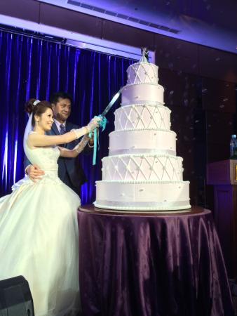 Stage with Wedding Cake