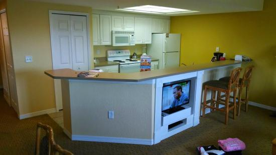 Kitchen area of my 3 bedroom villa - Picture of Holiday Inn Club ...