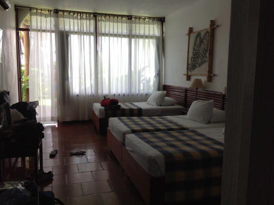 Hotel Villa Caribe: Chambre