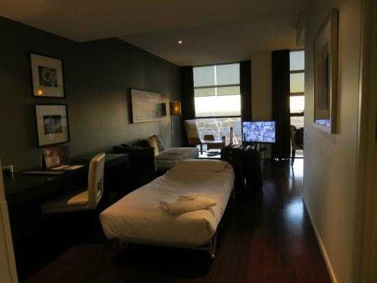 one bedroom view from entrance picture of fraser. Black Bedroom Furniture Sets. Home Design Ideas