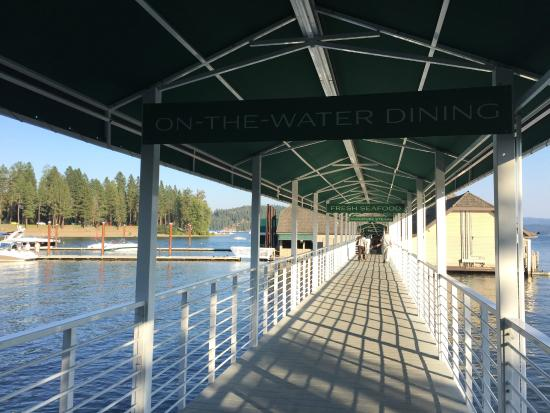 Cedars Floating Restaurant Walking Down To The