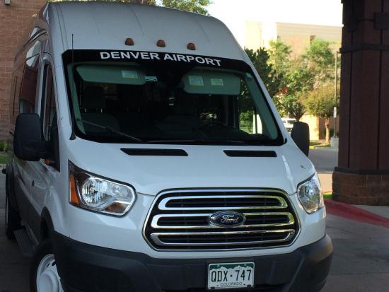 Best Western Plus Denver International Airport Inn & Suites: Look for this shuttle.