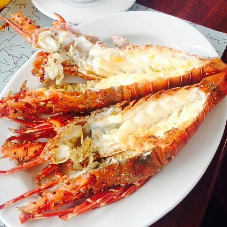Punta Sal Suites & Bungalows Resort: Langosta deliciosa