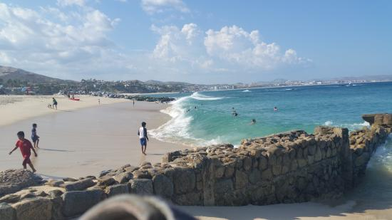 Playa Palmilla Beach Riding The Swells