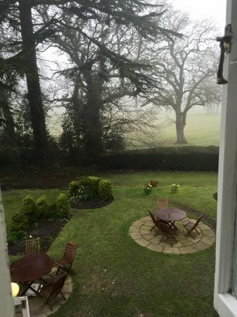 Marchwiel, UK: view from the room