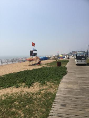 Rizhao, China: На берегу