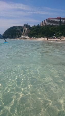Tatadohama Beach : ここはずっと変わらない。ずっと綺麗なビーチ。
