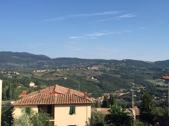 Hotel Villa Bonelli: Vista dalla camera