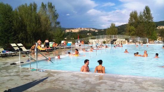 San Giovanni Terme Rapolano: Piscina