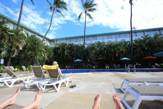 Airport Honolulu Hotel: swimming pool