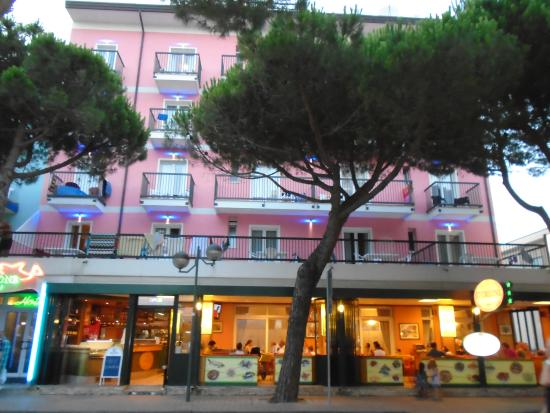 Hotel Storione: The hotel from the street