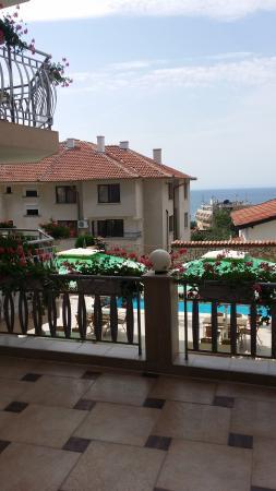 Hotel Nassi : widok na morze