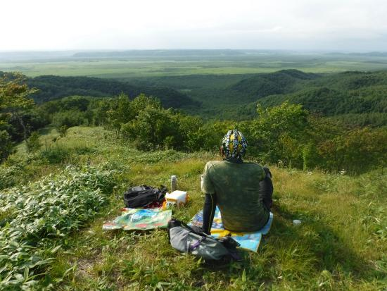 Kushiro Shitsugen FatBike Guide Tour: プライベート展望台からの眺望