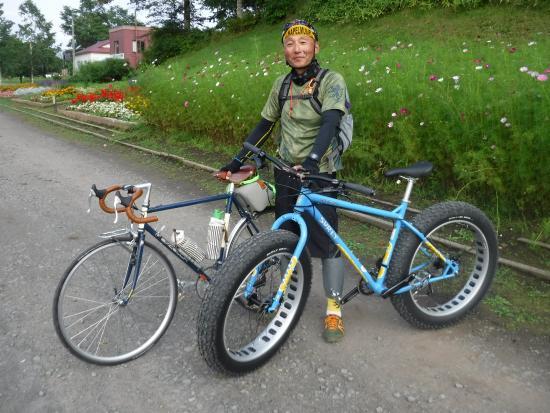 Kushiro Shitsugen FatBike Guide Tour: マイ自転車とファットバイク