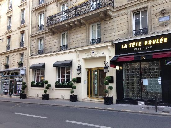 Esterno Hotel Picture Of Hotel Serotel Lutece Paris