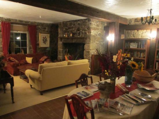 Mayon Farmhouse: Lounge area