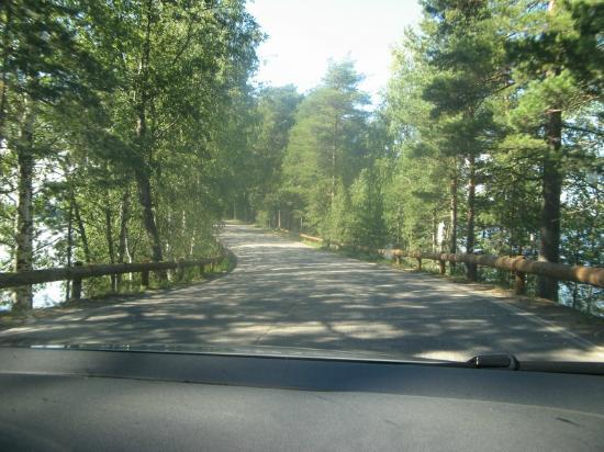 Punkaharju Ridge: Driving along the ridge