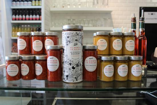 Pizzarium: Al Dente la salsa