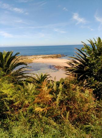 Abanillas y playa de pechon