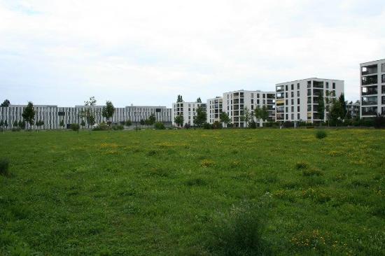 Koeniz, Suisse: moderne Bauweise mit viel Grün