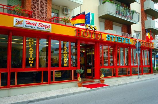 Hotel Stiefel: Entrata dell'Hotel