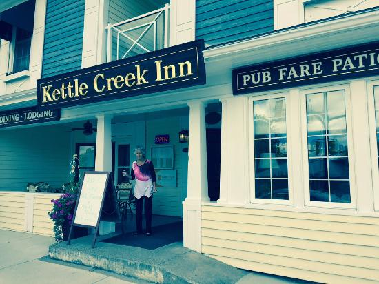 Kettle Creek Inn: Innkeeper Jean Vedova
