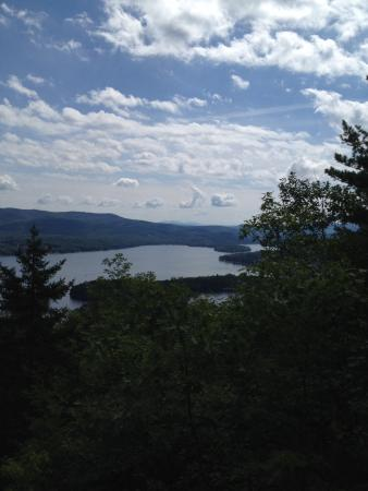 Bristol, NH: View from the top of Big Sugar Loaf Trail
