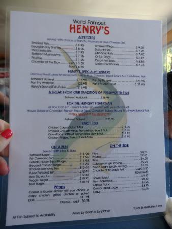 Henry's Fish Restaurant