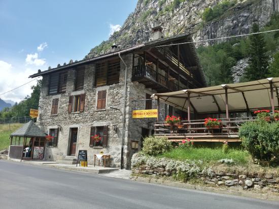Riva Valdobbia, Ιταλία: Osteria di Boccorio