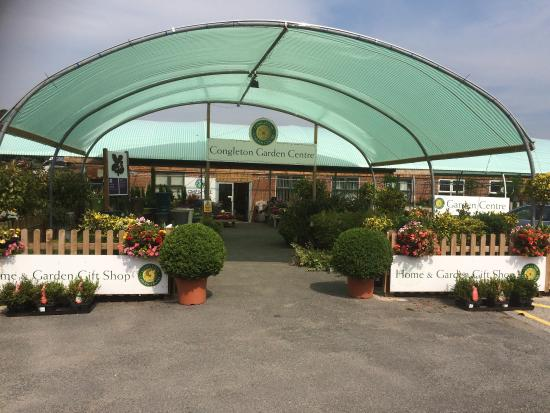 Entrance to Cafe and main garden centre - Picture of Congleton ...