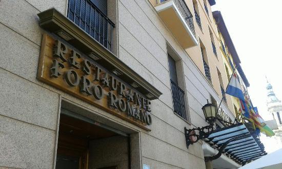nuevo restaurante foro romano del hotel tibur